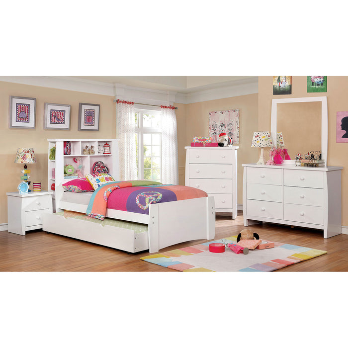 Marlee White 4 Pc. Full Bedroom Set image