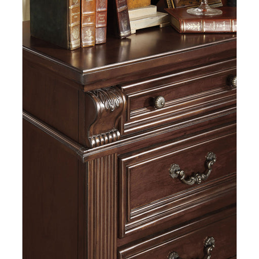 Esperia Brown Cherry Night Stand image