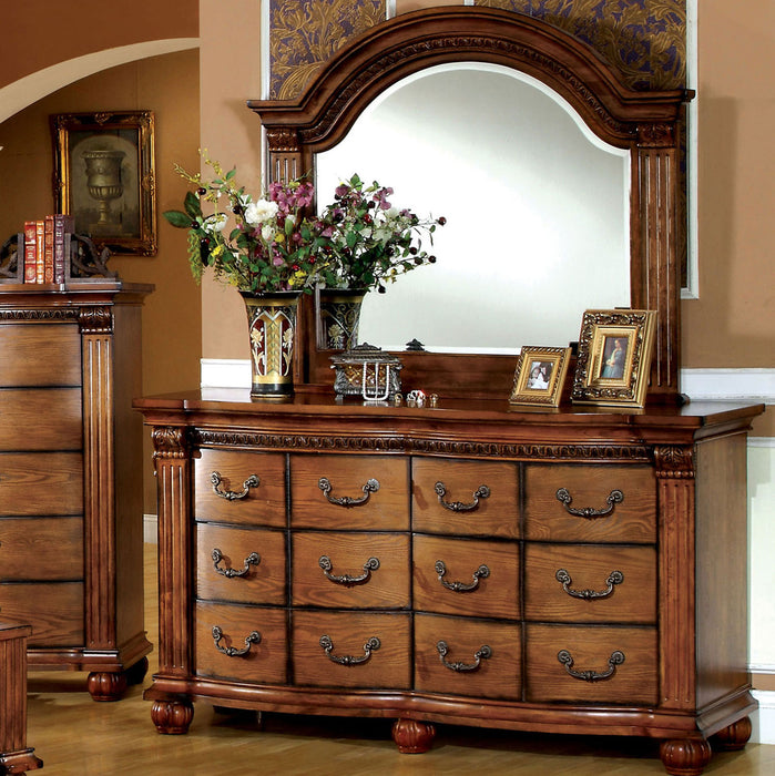 Bellagrand Antique Tobacco Oak Dresser image