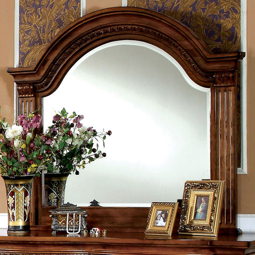 Bellagrand Antique Tobacco Oak Mirror image