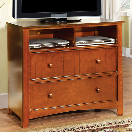 Omnus Oak Media Chest image
