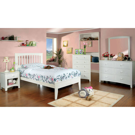 Pine Brook White 4 Pc. Twin Bedroom Set image