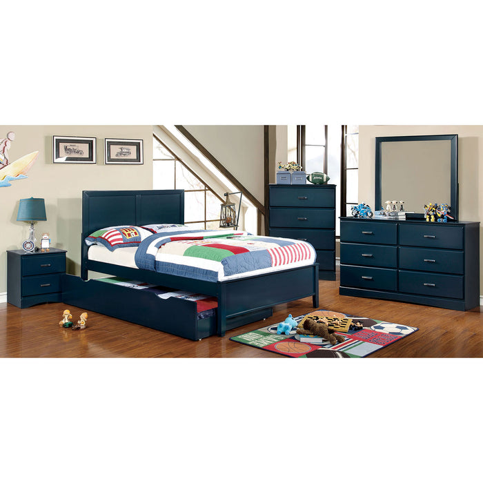PRISMO Blue 4 Pc. Twin Bedroom Set image
