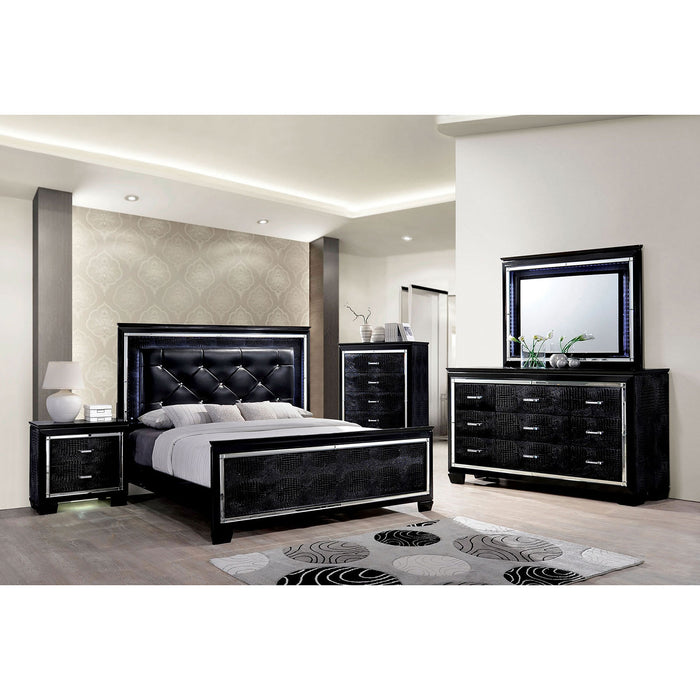 BELLANOVA Black 4 Pc. Queen Bedroom Set image