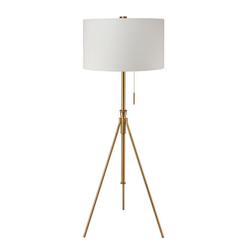 Zaya Stained Gold Floor Lamp image