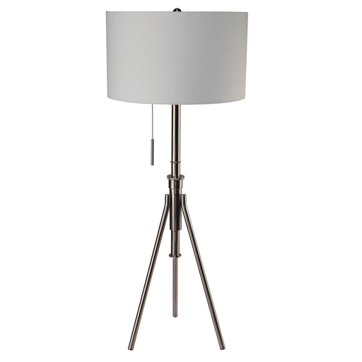 Zaya Brushed Steel Floor Lamp image