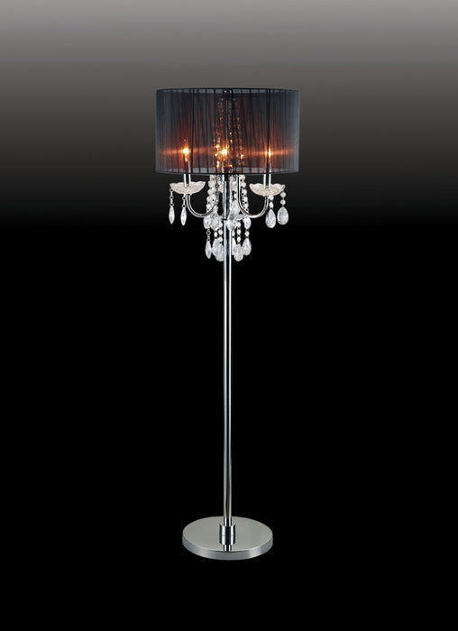 Jada Black Floor Lamp image
