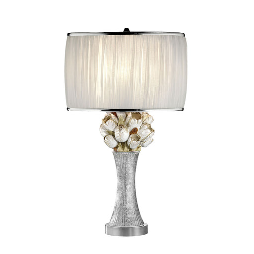Simone White/Silver Table Lamp image