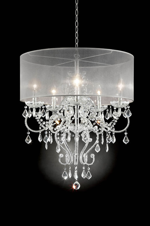 "Rigel Silver 31 1/2""H Ceiling Lamp image"