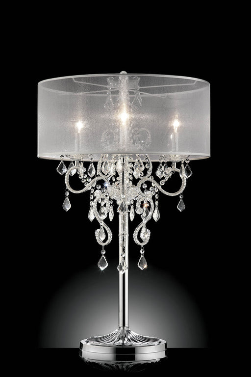 "Rigel Silver 35""H Table Lamp image"