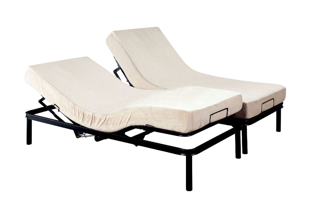 FRAMOS Black Adjustable Bed Frame - E.King image