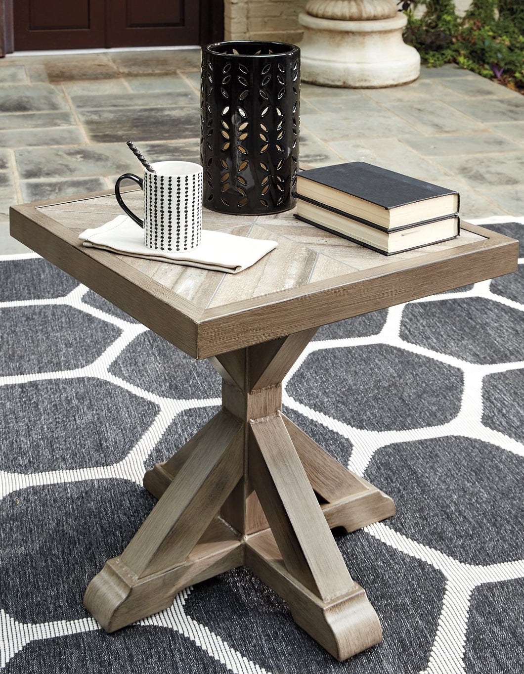 Beachcroft Signature Design by Ashley Outdoor End Table