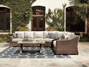 Beachcroft Signature Design by Ashley 4-Piece Sectional