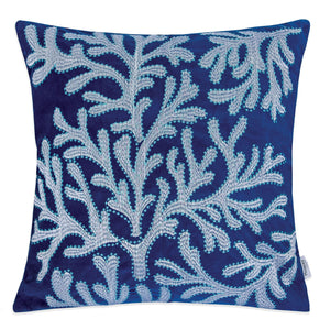 "Dolly Blue 20"" X 20"" Pillow, Blue image"