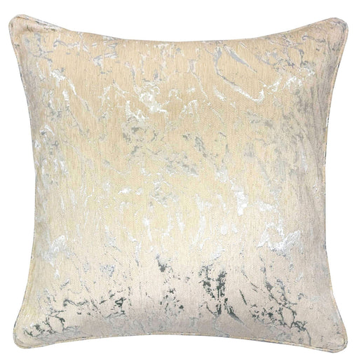 "Bria Light Beige 20"" X 20"" Pillow, Ecru image"