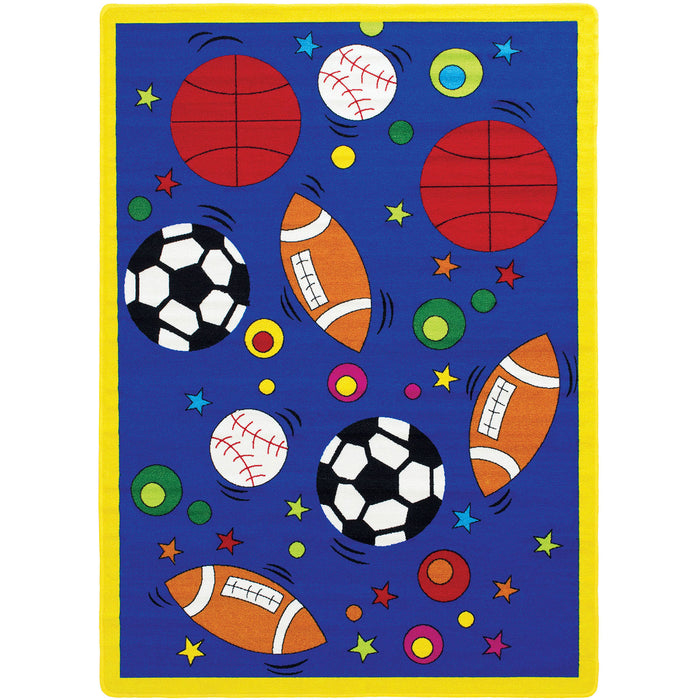 "Abbey Sports 4' 9"" X 6' 9"" Area Rug image"