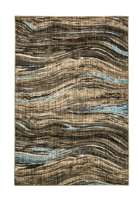 Kelowna Dark Brown 5' X 8' Area Rug image