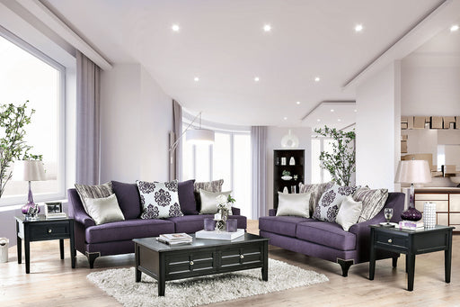 Sisseton Purple Sofa + Love Seat image