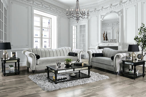 Marvin Pewter Sofa + Love Seat image