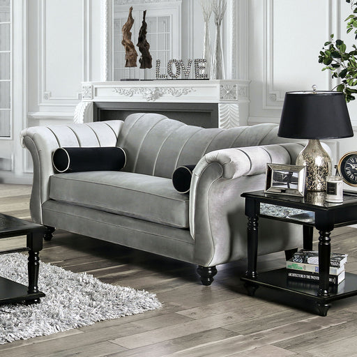 Marvin Pewter Love Seat image