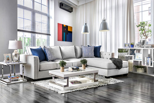 Ornella Light Gray/Blue Sectional image