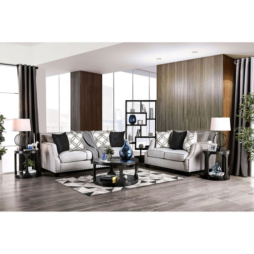 Phoibe Gray Sofa + Love Seat image