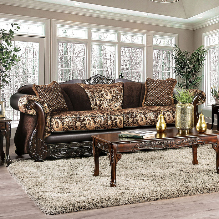 Newdale Brown/Gold Sofa image