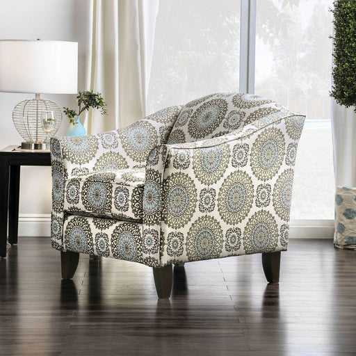 Misty Ivory/Pattern Floral Chair image