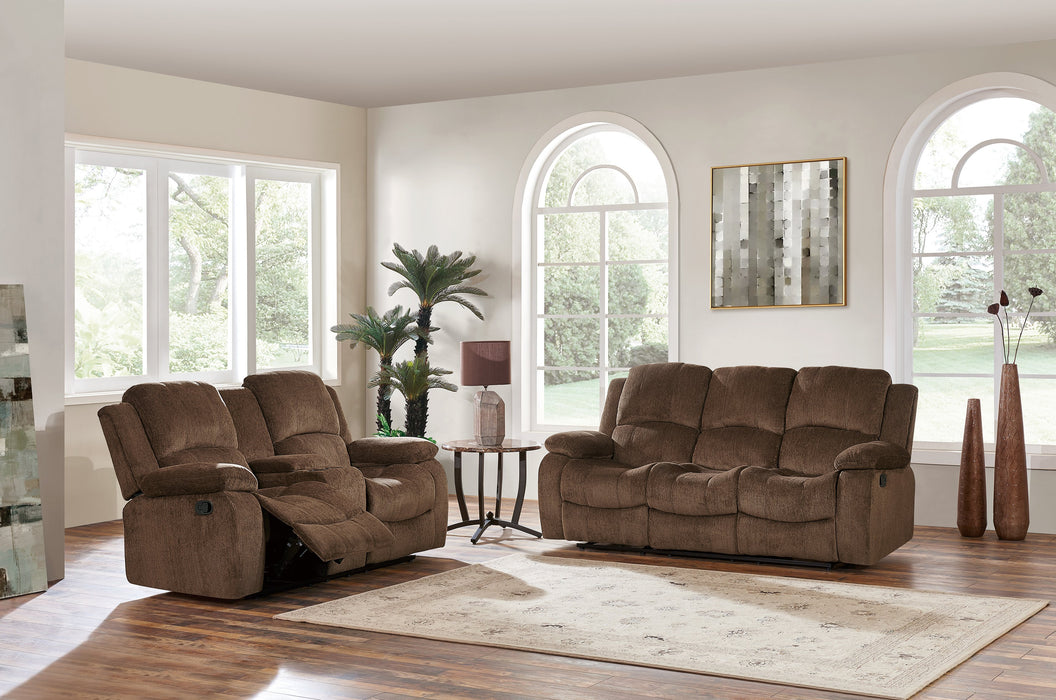 U3118 RECLINING SOFA W/ DROP DOWN TABLE image