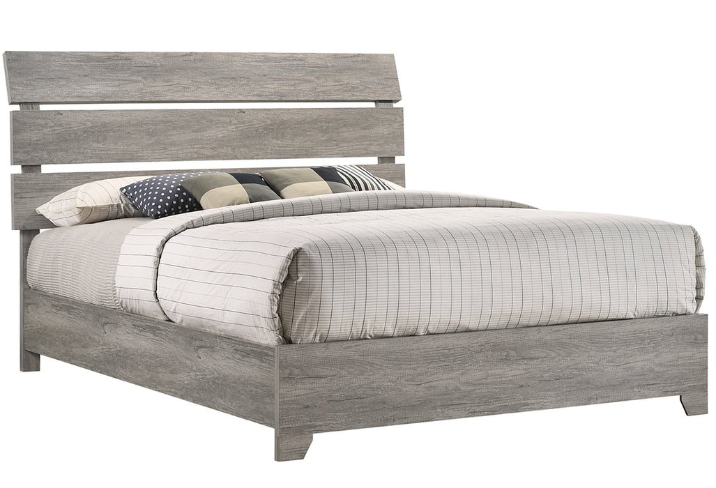 Crown Mark Tundra King Panel Bed in Gray B5520-K image