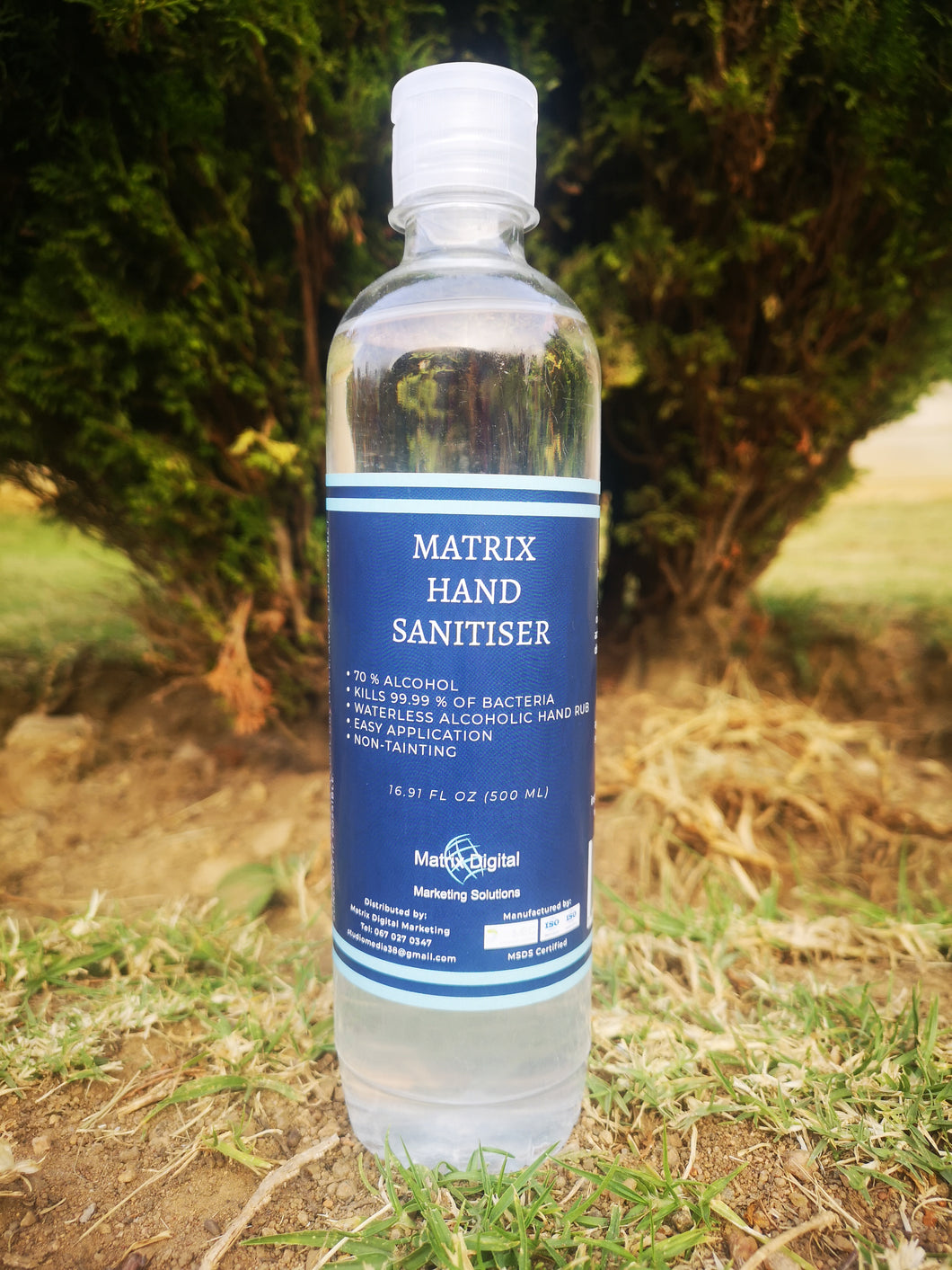500ml Matrix Hand Sanitiser - 70% Alcohol