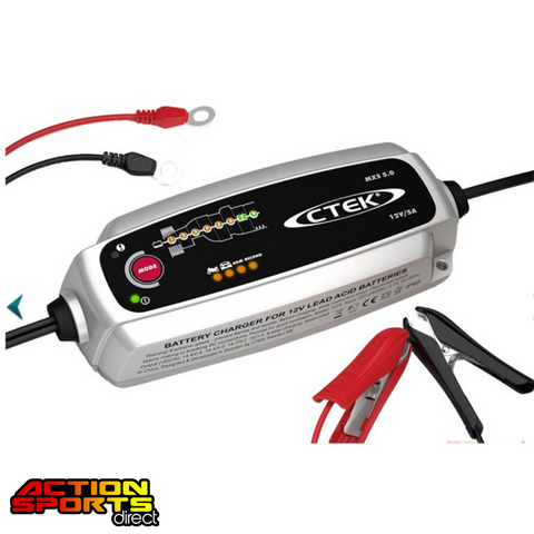 CTEK MXS 5.0T BATTERY CHARGER - 56-987