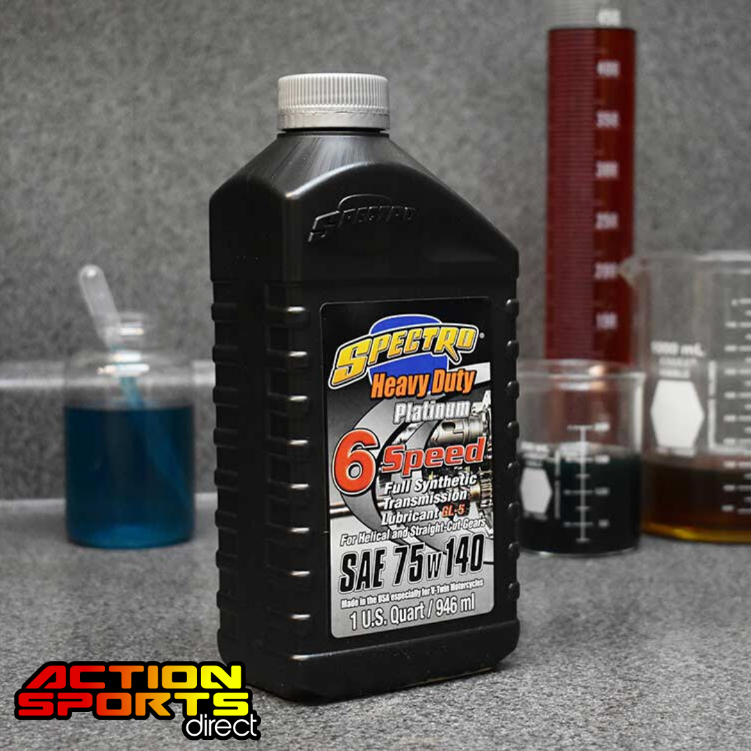 Spectro Heavy Duty Platinum Full Synthetic 6 speed Transmission oil 75w140 - 946ml