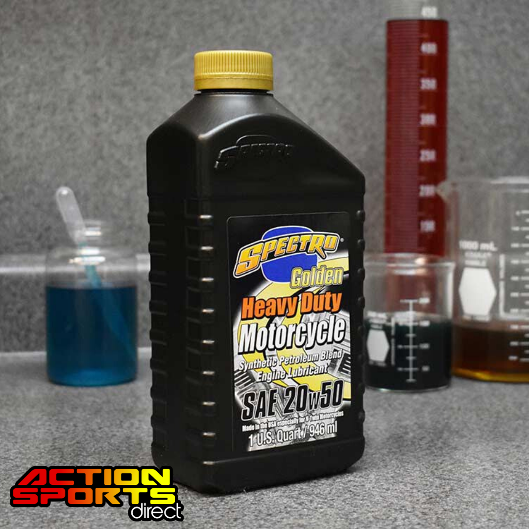 Spectro Heavy Duty Golden Semi - Synthetic Engine Oil 20w50 - 946ml