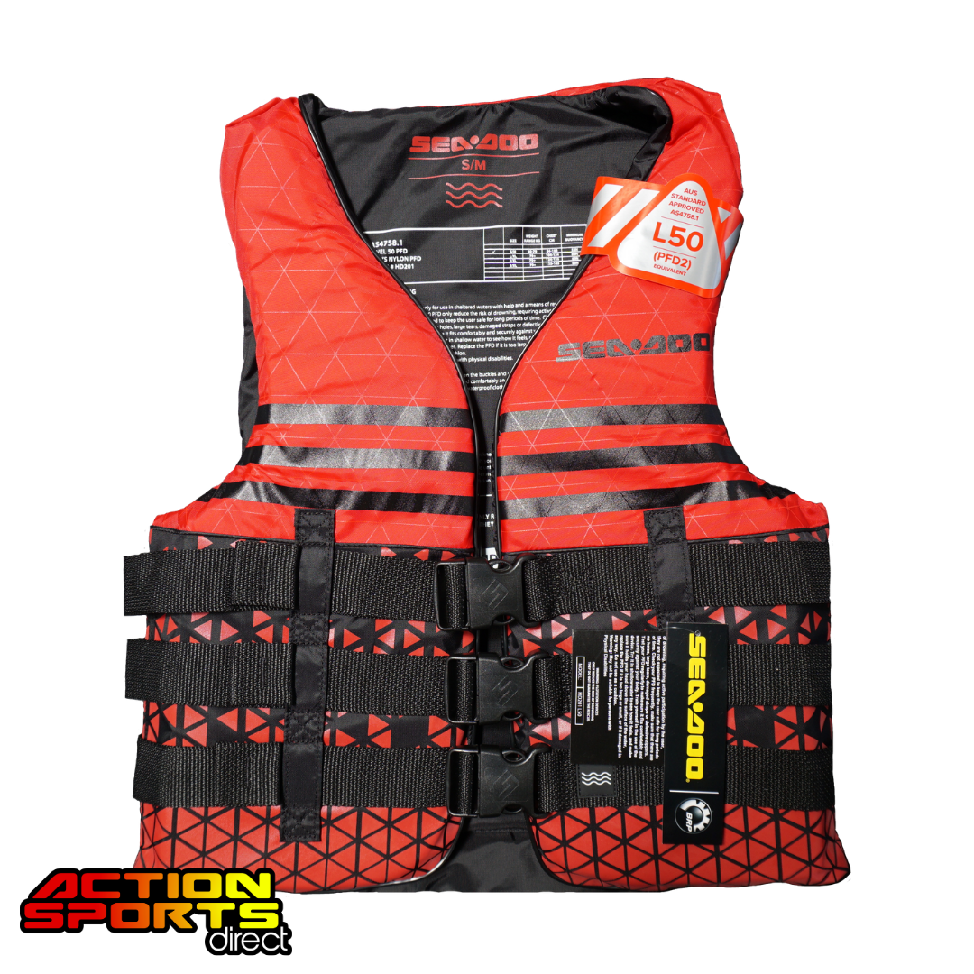 SEA-DOO SPLASH NYLON LIFE JACKET