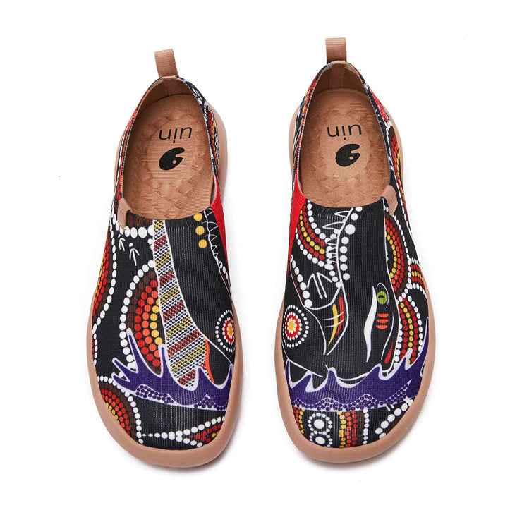 UIN Footwear Men Crocodiles Canvas loafers