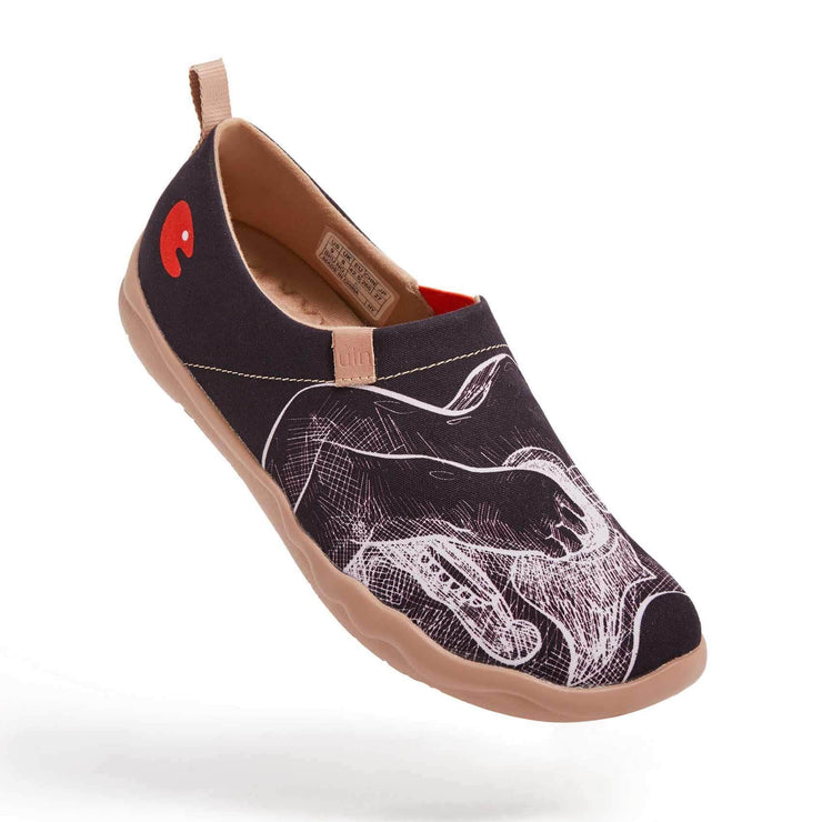 UIN Footwear Men Play the Flamenco Canvas loafers