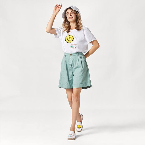 Smiley T-shirt (buy smiley shoes with t-shirt together, t-shirt will be free.) T-shirt UIN
