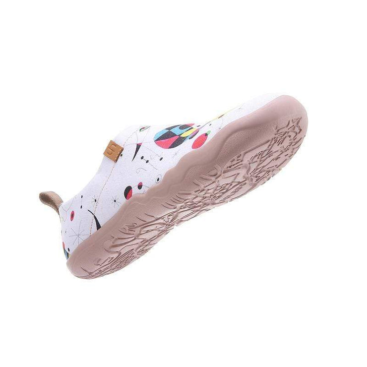 UIN Footwear Women Fishes Canvas loafers
