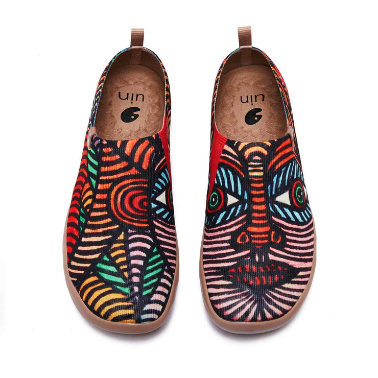 UIN Footwear Women Indian Girl Canvas loafers