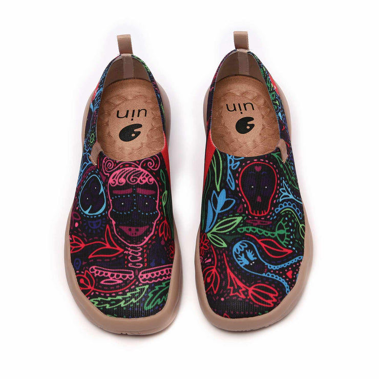 UIN Footwear Women Mundo de los muertos Women Canvas loafers