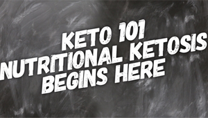 Keto 101: Start from where you are.