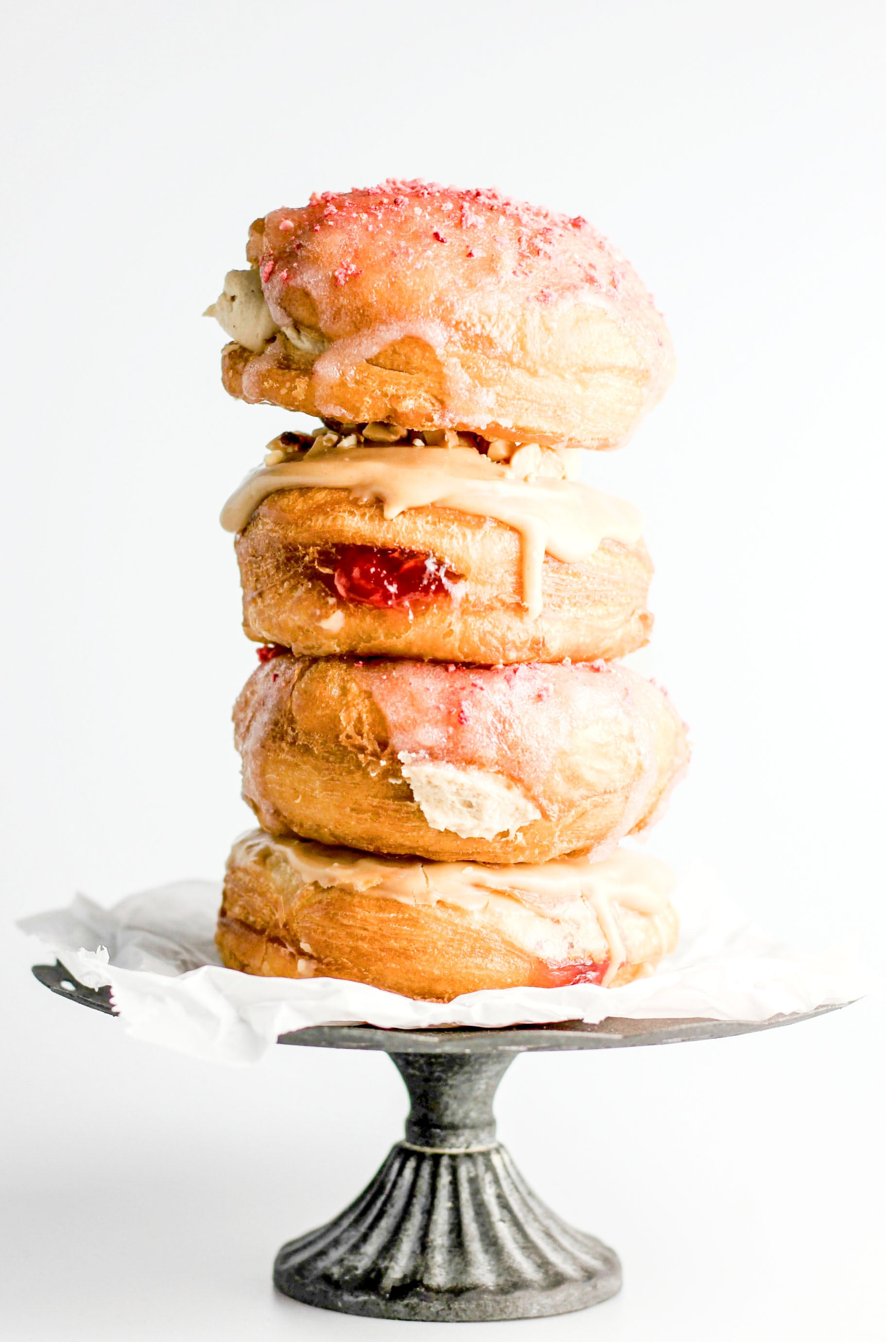 PB&Me + Jelly Stuffed Doughnuts