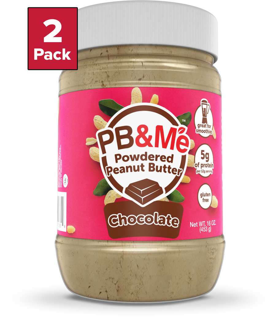 PB&Me - Powdered Peanut Butter - Chocolate (1LB)