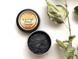 All-Natural Activated Charcoal Scrub - 2oz - $5 off!
