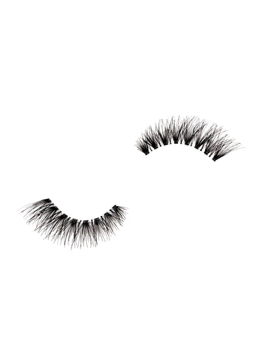 demi wispy eyelashes in the style sofia, from dotted cosmetics