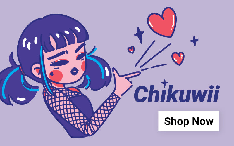 Shop our collaboration with Filipino Artist, Chikuwii