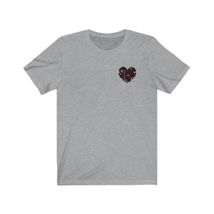 Mini Strong Heart T-Shirt (Mono)