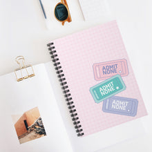 Load image into Gallery viewer, Retro Vibes Notebook (Pink)
