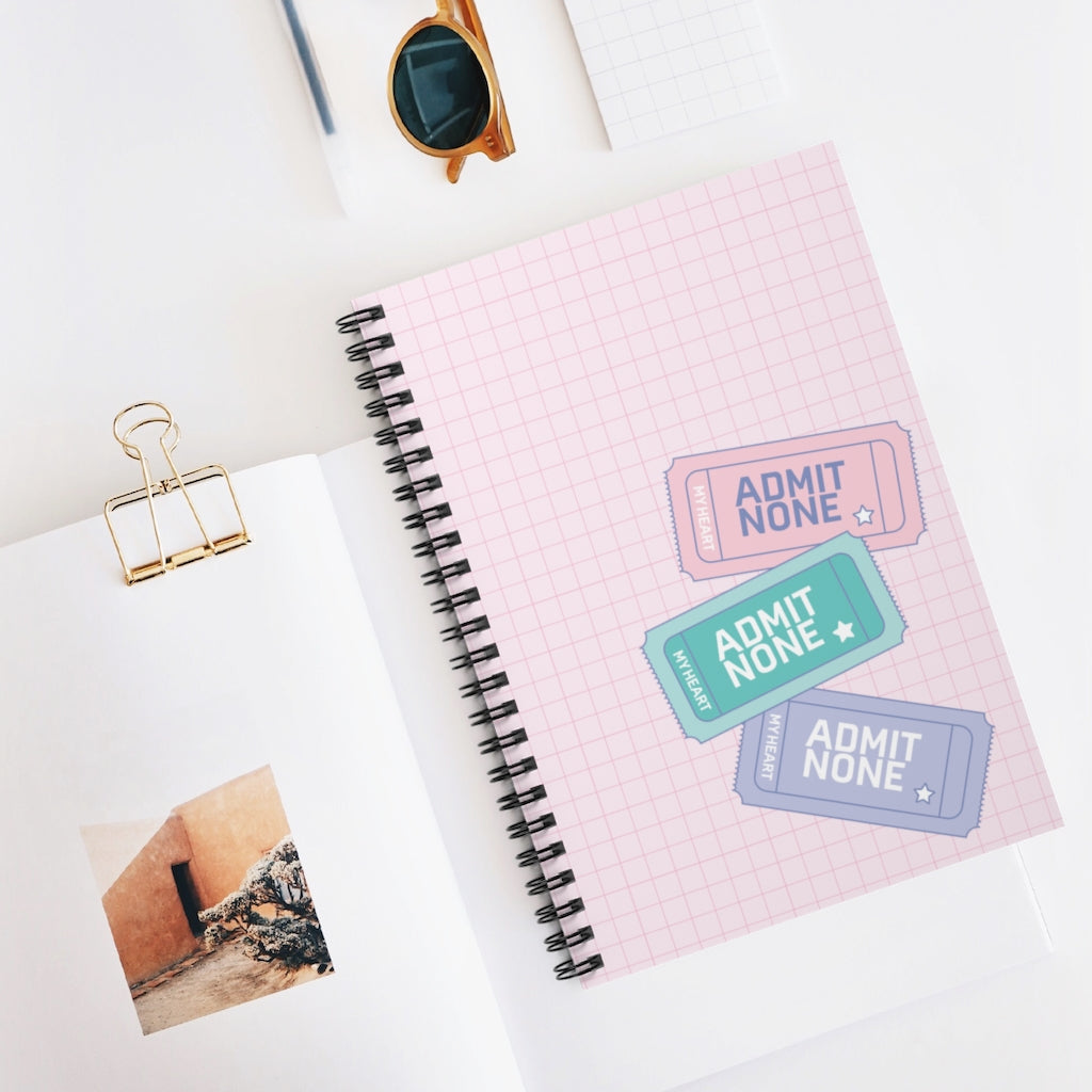 Retro Vibes Notebook (Pink)